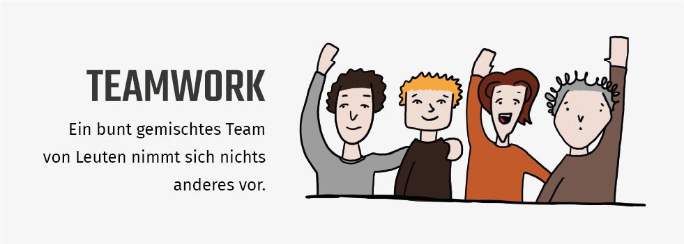 Design Sprints Erklärung: sie passieren immer in Teams