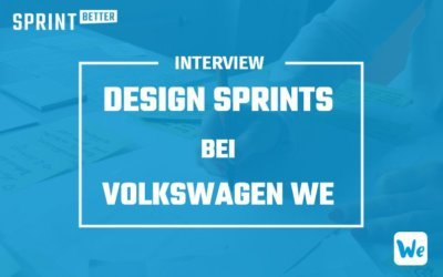 Design Sprints bei Volkswagen