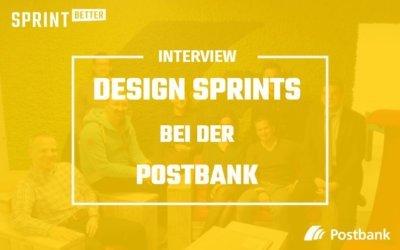 Design Sprints bei der Postbank