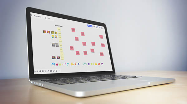 Das Remote Warm Up hilft dabei digitale Whiteboard Tools kennenzulernen